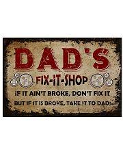 Dad's Fix It Shop 17x11 Poster front