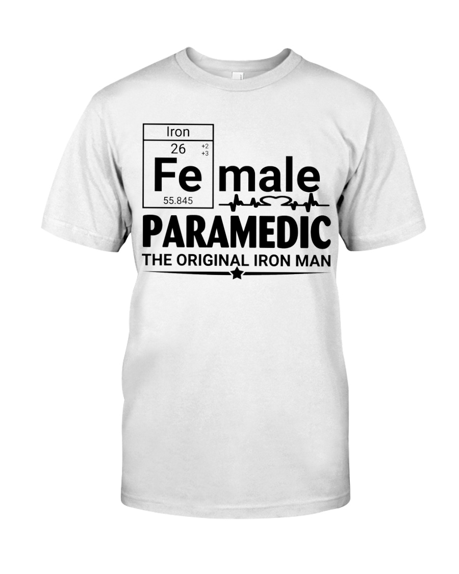 Female Paramedic  Classic T-Shirt