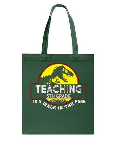 Teaching 5th Grade Is A Walk In The Park