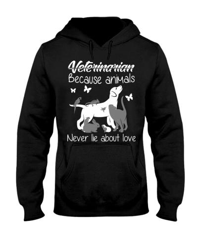 Veterinarian Because Animals
