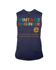 Vintage Engineer Knows More Than He Says Sleeveless Tee thumbnail
