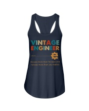 Vintage Engineer Knows More Than He Says Ladies Flowy Tank thumbnail
