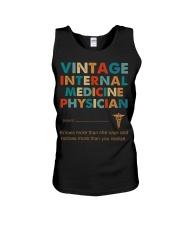 Vintage Internal Medicine Knows More Than She Unisex Tank thumbnail