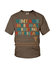 Vintage Internal Medicine Knows More Than She Youth T-Shirt thumbnail
