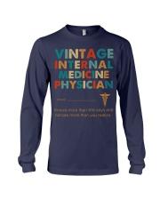 Vintage Internal Medicine Knows More Than She Long Sleeve Tee thumbnail