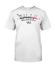 VU Meter White Classic T-Shirt thumbnail