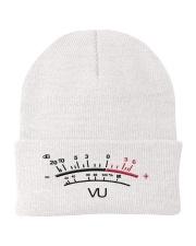 VU Meter White Knit Beanie thumbnail