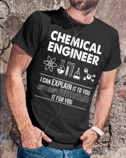 I Can Explain Chemical Engineer Classic T-Shirt lifestyle-mens-crewneck-front-4