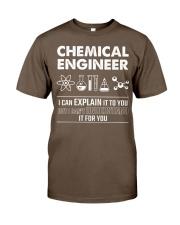 I Can Explain Chemical Engineer Classic T-Shirt thumbnail