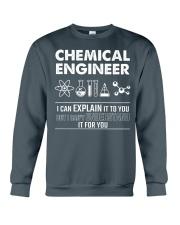 I Can Explain Chemical Engineer Crewneck Sweatshirt thumbnail
