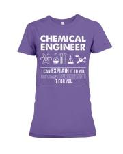 I Can Explain Chemical Engineer Premium Fit Ladies Tee thumbnail