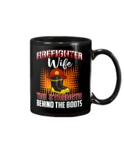 Firefighter Wife The Strength Behind The Boots Mug thumbnail