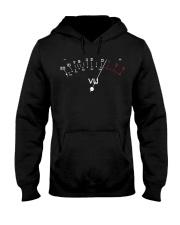 Vu Meter Hooded Sweatshirt front