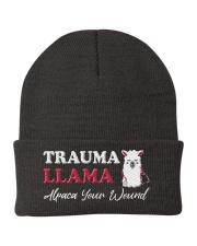 Trauma Llama Alpaca Your Wound Knit Beanie thumbnail