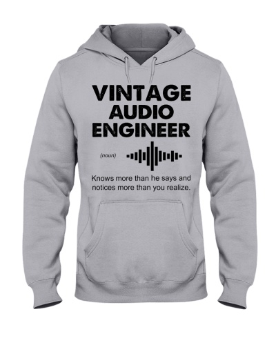 Vintage Audio Engineer Knows More Than He Says