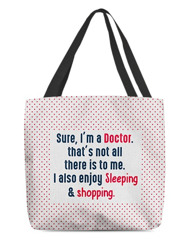 Doctor Enjoy Sleeping and Shopping