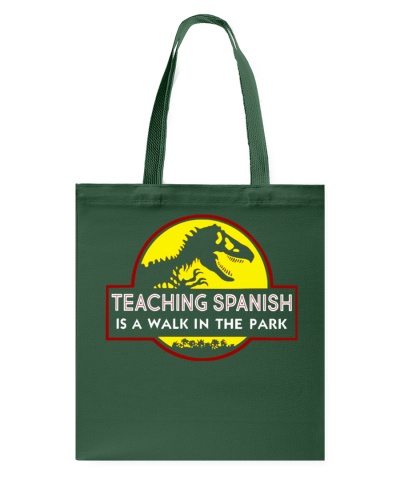 Teaching Spanish Is A Walk In The Park