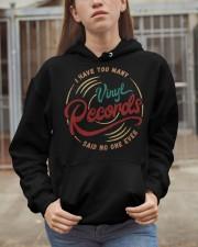 I Have Too Many Vinyl Records Hooded Sweatshirt apparel-hooded-sweatshirt-lifestyle-07