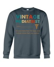 Vintage Podiatrist Knows More Than He Says Crewneck Sweatshirt thumbnail