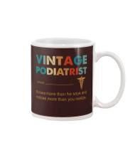 Vintage Podiatrist Knows More Than He Says Mug thumbnail
