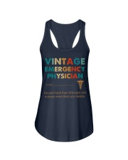 Vintage Emergency Physician Knows More Than She Ladies Flowy Tank thumbnail
