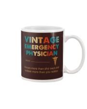 Vintage Emergency Physician Knows More Than She Mug thumbnail
