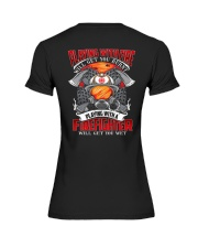 Playing With A Firefighter Premium Fit Ladies Tee thumbnail