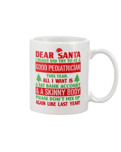 Dear Santa Good Pediatrician