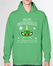Unicorn Anesthesiologist Like A Regular Doctor Hooded Sweatshirt garment-hooded-sweatshirt-front-04