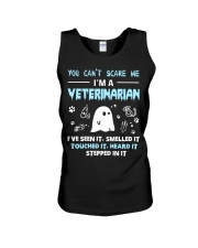 You Can't Scare Me I'm A Veterinarian  Unisex Tank thumbnail