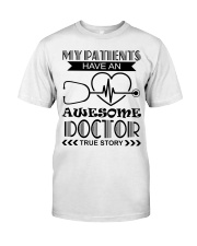 My Patients Have An Awesome Doctor Premium Fit Mens Tee thumbnail