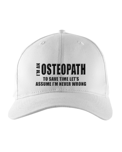 I'm An Osteopath To Save Time