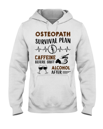 Osteopath Survival Plan Caffeine Alcohol