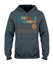 Vintage Engineer Knows More Than He Says Hooded Sweatshirt thumbnail