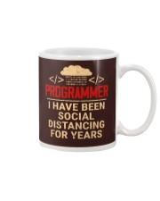 Programmer Social Distancing Mug thumbnail