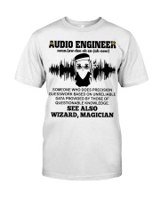 Audio Engineer See Also Wizard Magician Classic T-Shirt thumbnail