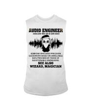 Audio Engineer See Also Wizard Magician Sleeveless Tee thumbnail
