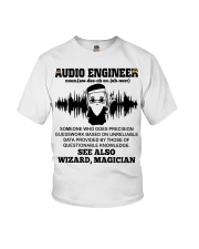 Audio Engineer See Also Wizard Magician Youth T-Shirt thumbnail