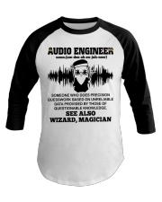 Audio Engineer See Also Wizard Magician Baseball Tee thumbnail