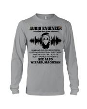Audio Engineer See Also Wizard Magician Long Sleeve Tee thumbnail