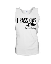 I Pass Gas For A Living Unisex Tank thumbnail