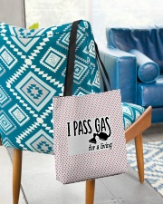 I Pass Gas For A Living All-over Tote aos-all-over-tote-lifestyle-front-01