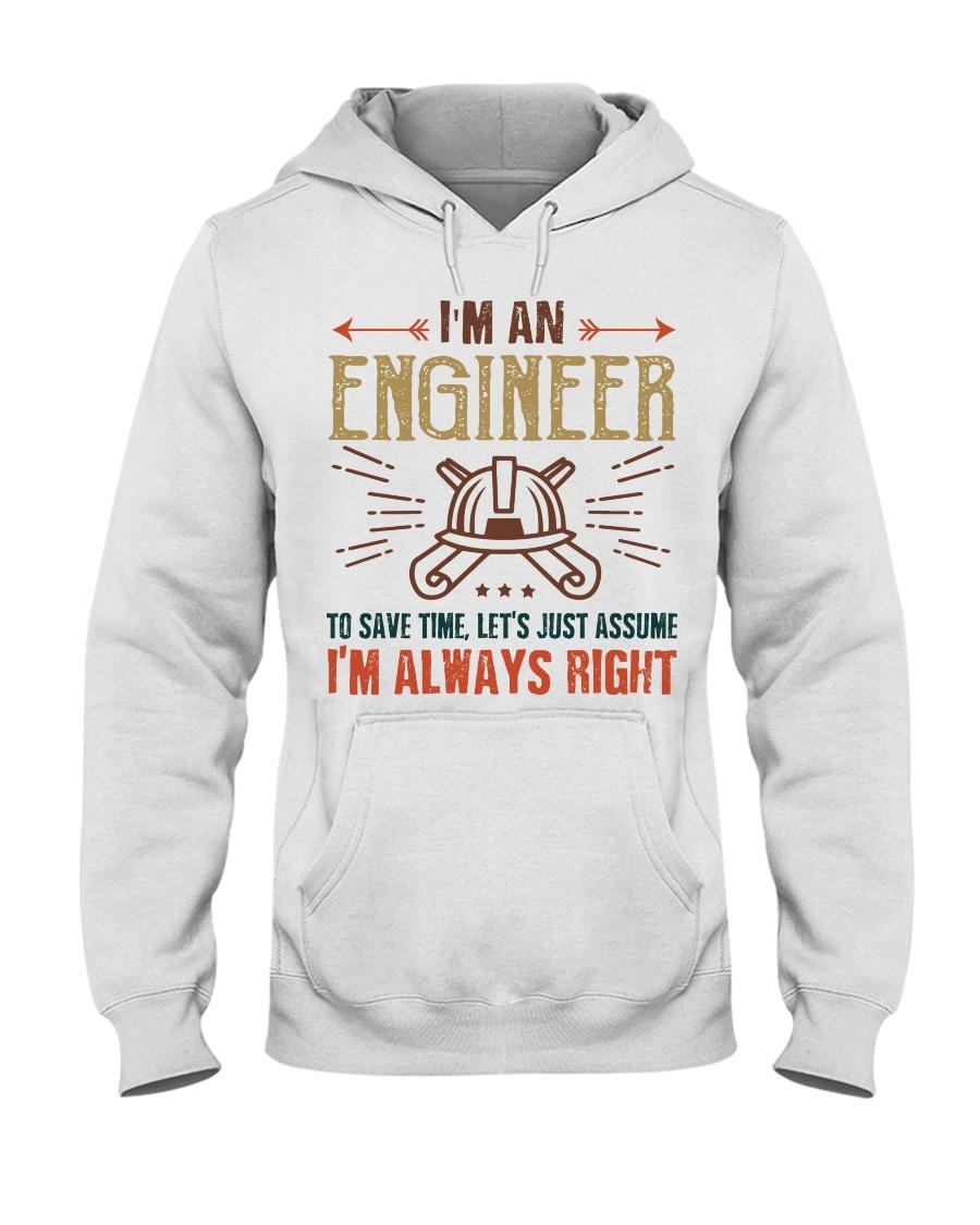 Engineer Always Right Hooded Sweatshirt