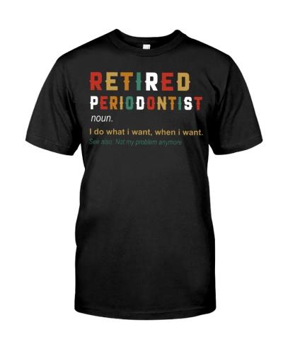Retired Periodontist
