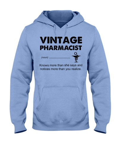 Vintage Pharmacist Knows More Than She Says