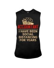 Accountant Social Distancing Sleeveless Tee thumbnail