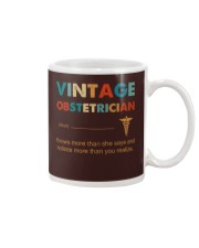 Vintage Obstetrician Knows More Than She Says Mug thumbnail