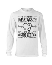 It's My Resting Vet Face There Is No Winning Long Sleeve Tee thumbnail