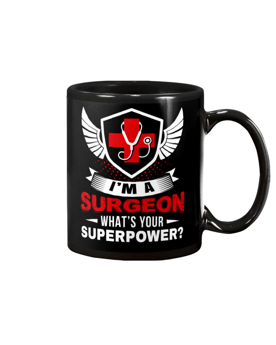 What's Your Superpower Surgeon Mug