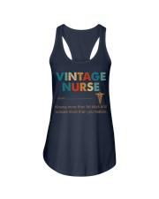 Vintage Nurse Knows More Than He Says Ladies Flowy Tank thumbnail